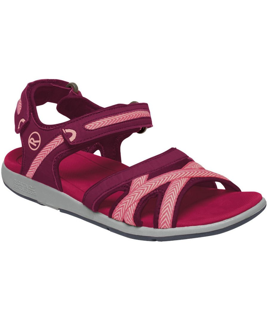 Image for Regatta Womens Santa Clara Adjustable Ankle Strap Sandals