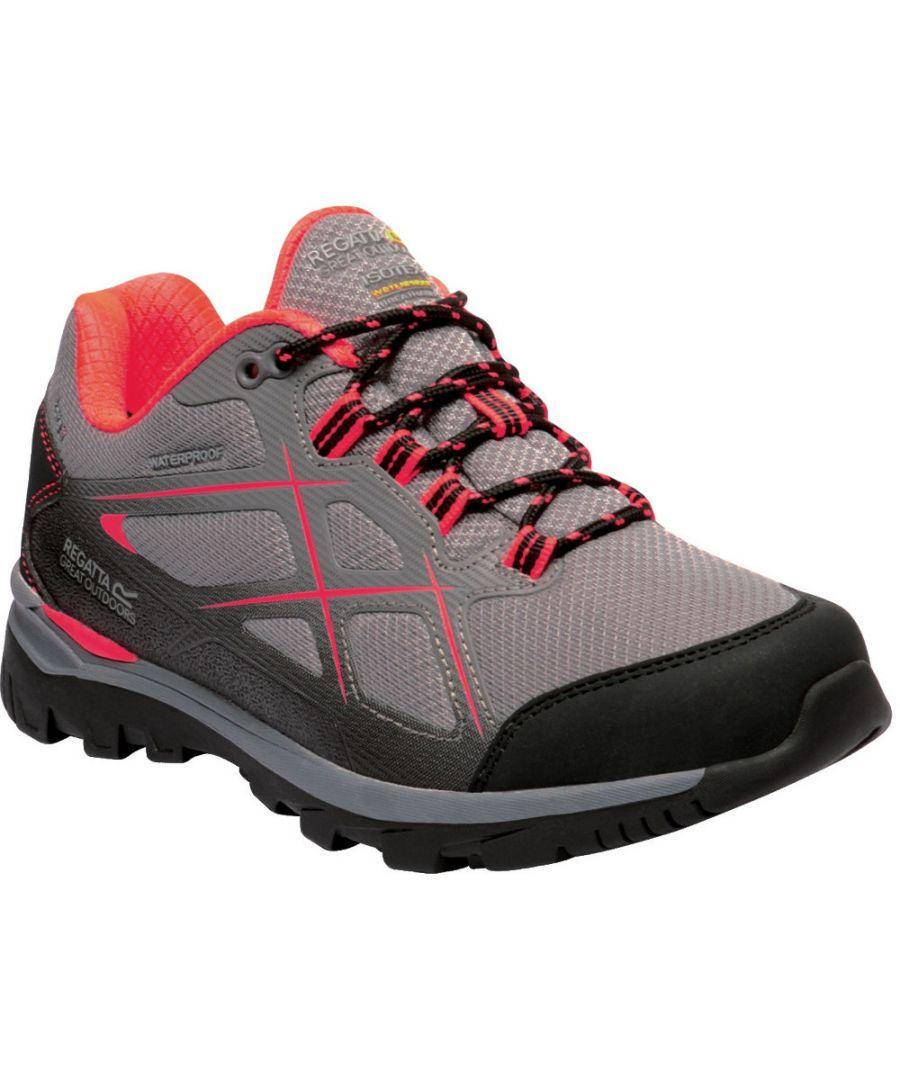 Image for Regatta Womens Kota Low II Lightweight Isotex Walking Shoes