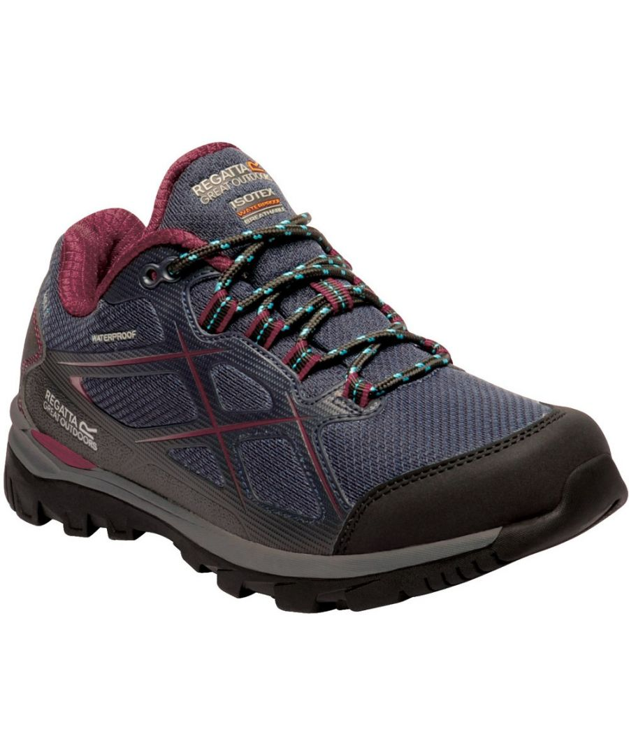 Image for Regatta Womens Kota Low II Lightweight Isotex Walking Shoes