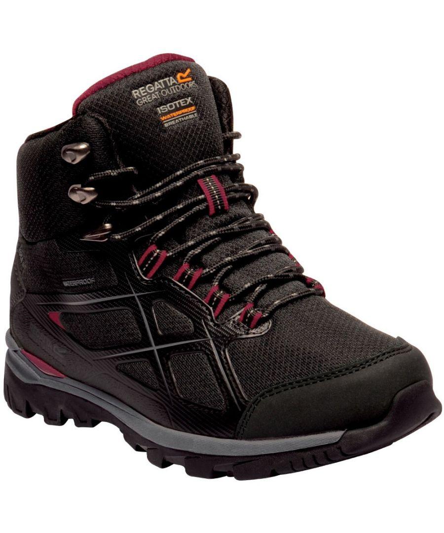 Image for Regatta Womens Kota Mid II Isotex Fabric Walking Boots