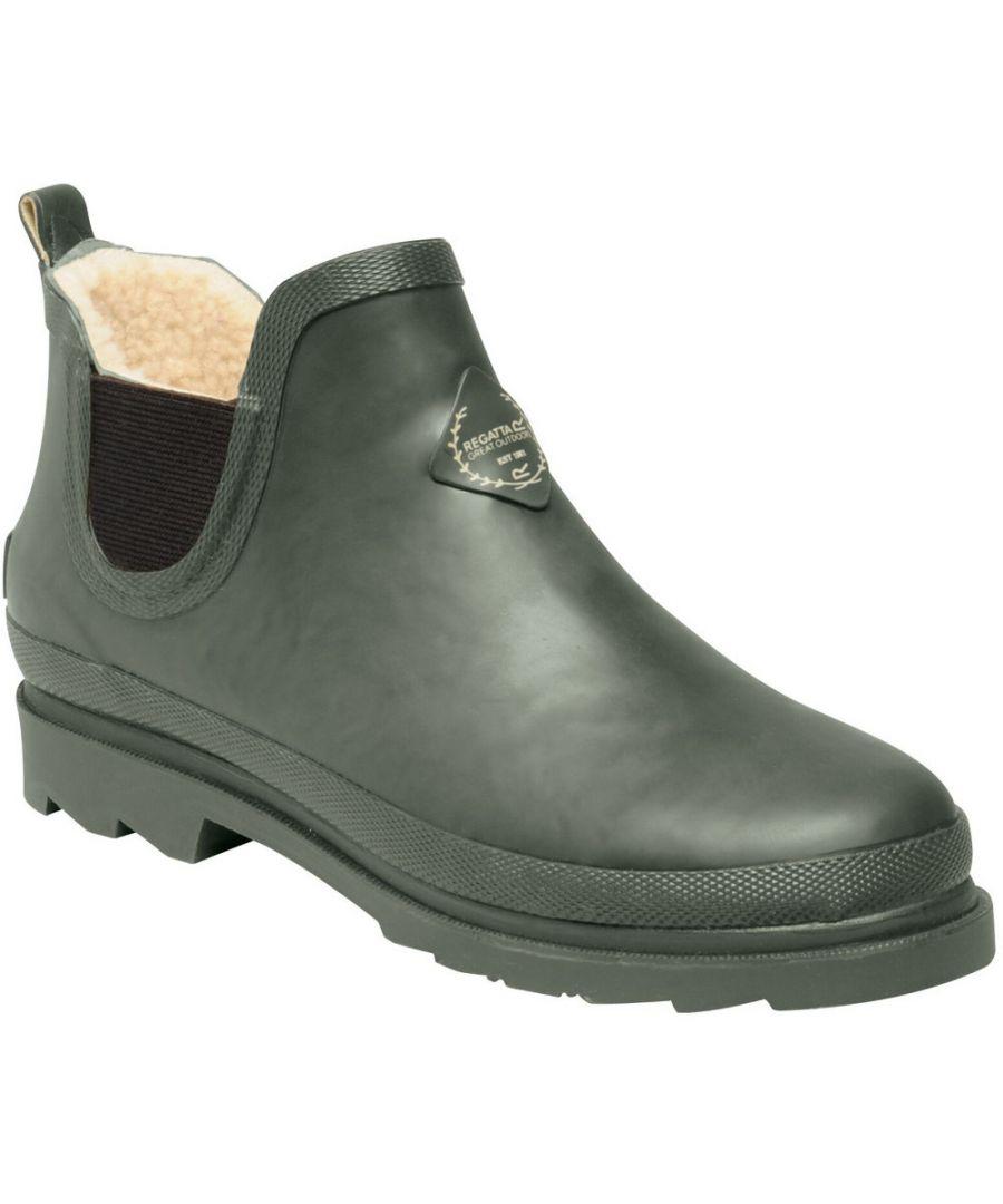 Image for Regatta Womens Harper Cosy Fur Lined Anlke Wellington Boots