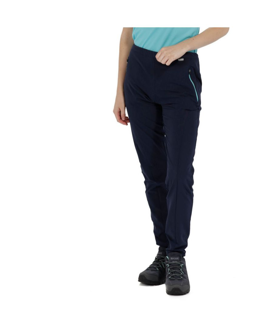Image for Regatta Womens/Ladies Pentre Durable Water Repellent Trousers Pants