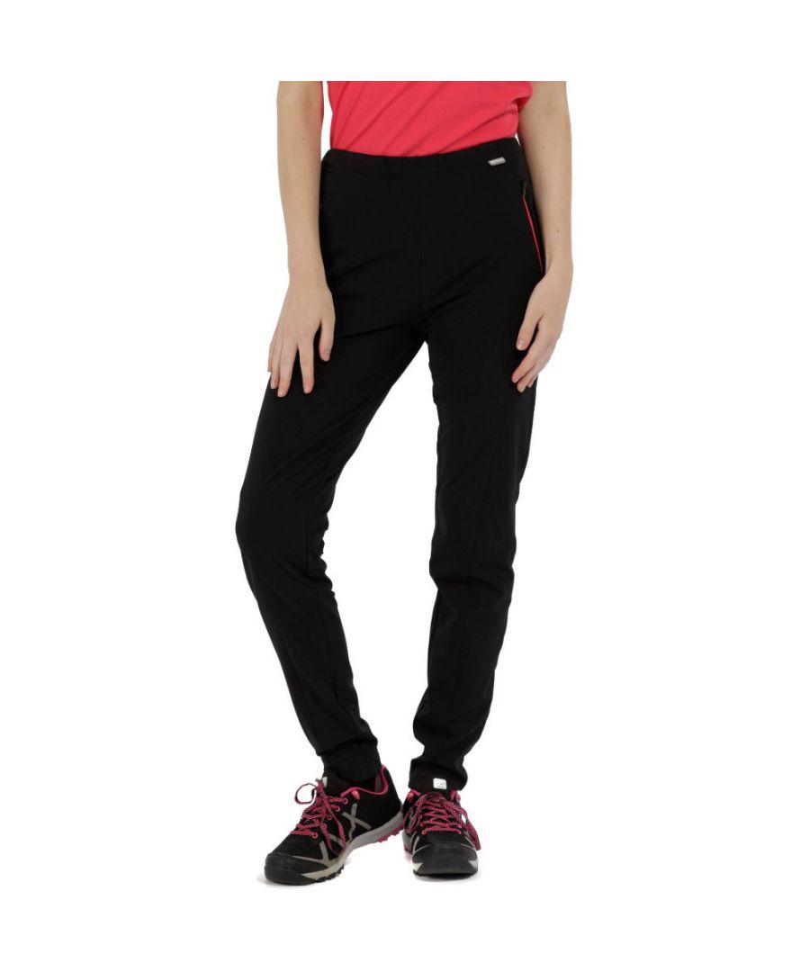 Image for Regatta Womens/Ladies Pentre Durable Water Repellent Trousers Pants