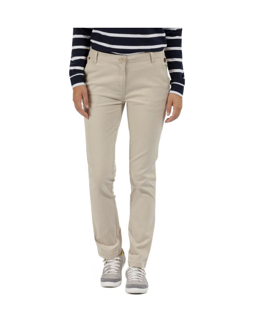 Image for Regatta Womens/Ladies Querina  Coolweave Hybrid Walking Chino Trousers