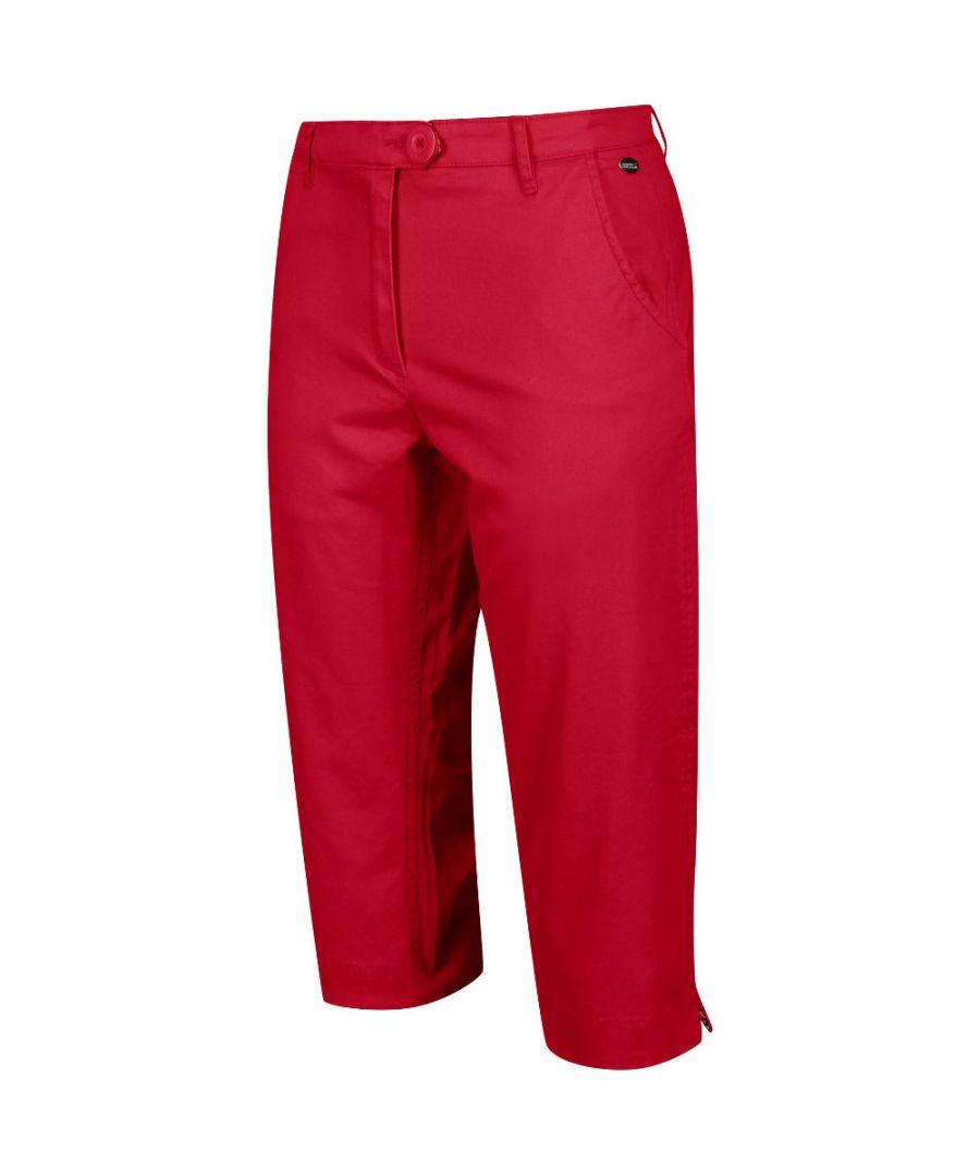Image for Regatta Womens Maleena Capri II Casual Walking Trousers