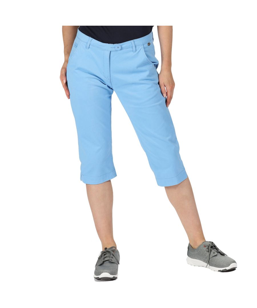 Image for Regatta Womens Maleena Capri II Casual Walking Trousers