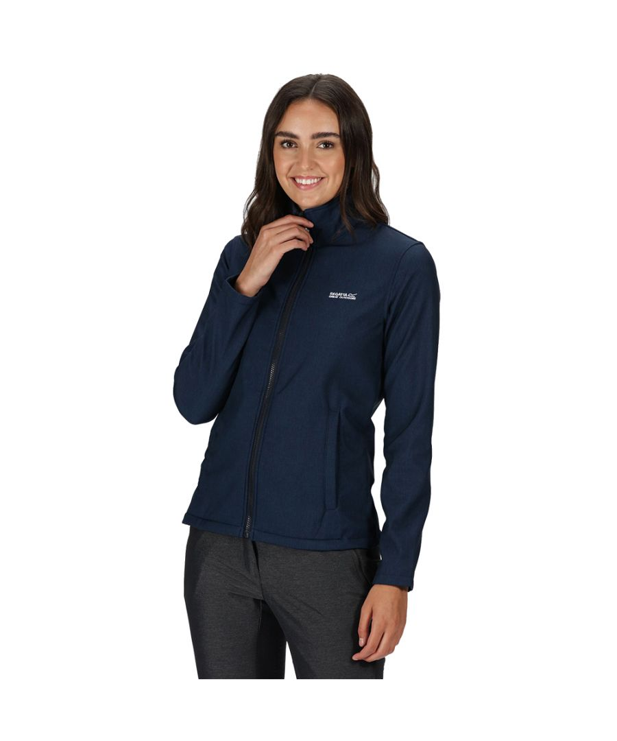 Image for Regatta Womens Connie V Wind Resistant Softshell Jacket