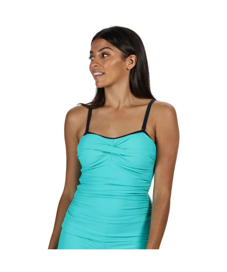 Image for Regatta Womens/Ladies Aceana II Soft Touch Lightly Padded Tankini Top