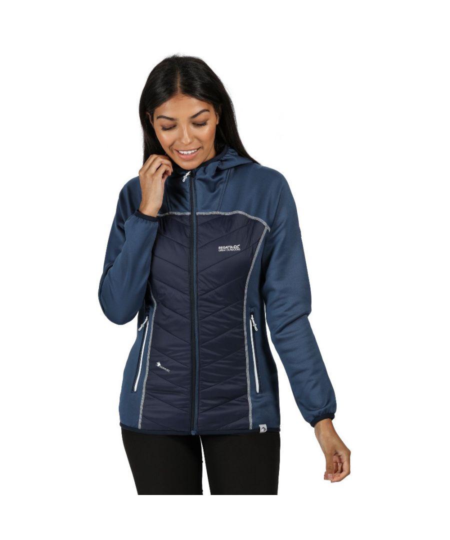 Image for Regatta Womens Andreson IV Lightweight Hooded Hybrid Coat