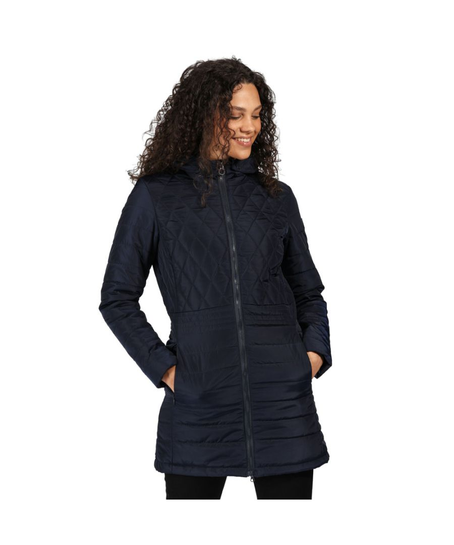 Image for Regatta Womens Parmenia Insulated Quilted Parka Coat Jacket