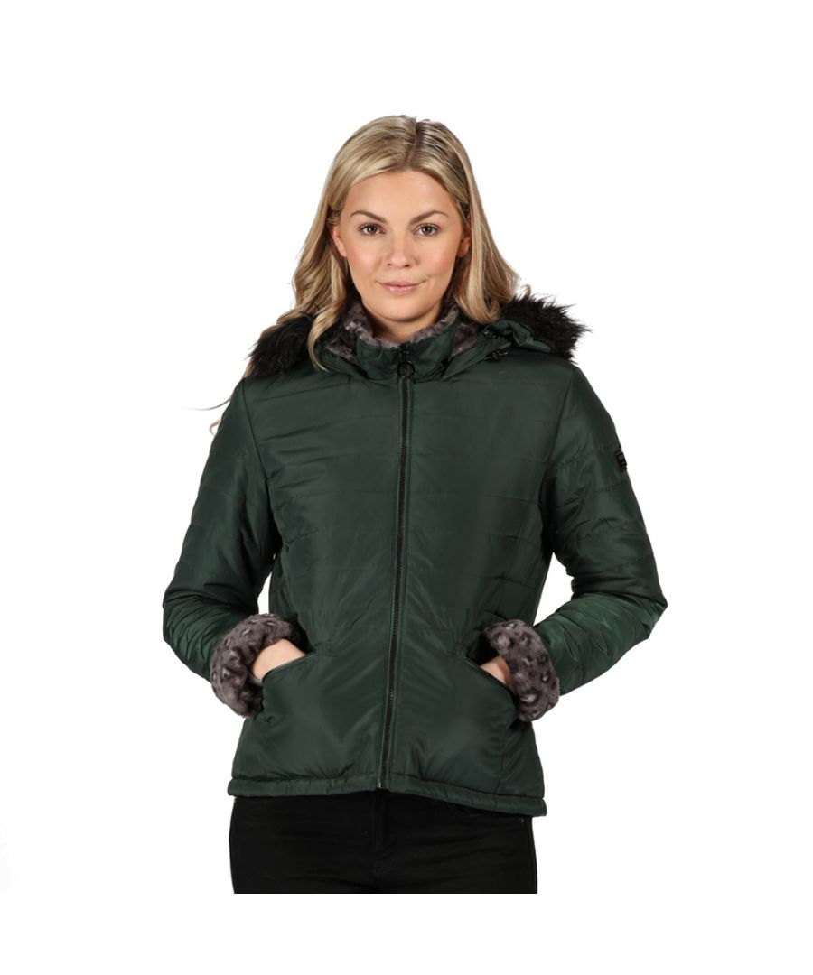 Image for Regatta Womens Westlynn Insulated Quilted Parka Coat Jacket