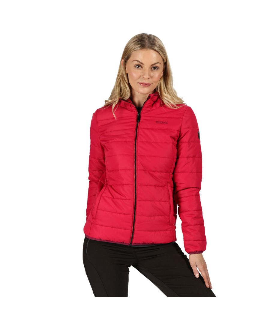 Image for Regatta Womens Helfa Insulated Quilted Hooded Puffa Coat