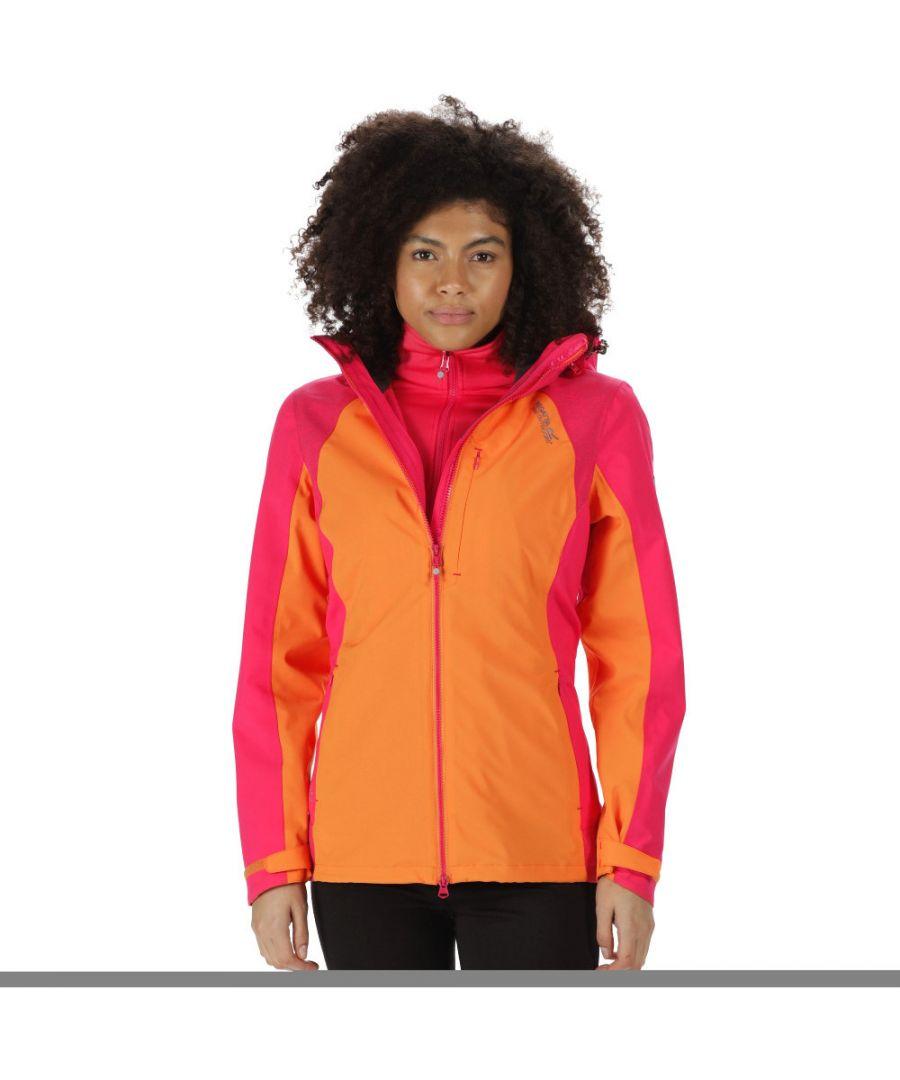 Image for Regatta Womens/Ladies Carletta II Waterproof Breathable Walking Jacket