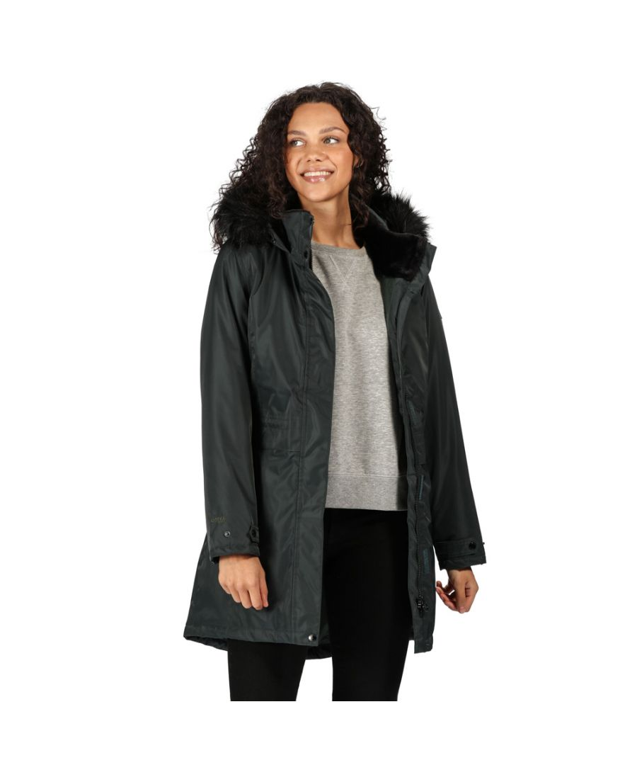 Image for Regatta Womens Lexis Waterproof Insulated Parka Coat Jacket