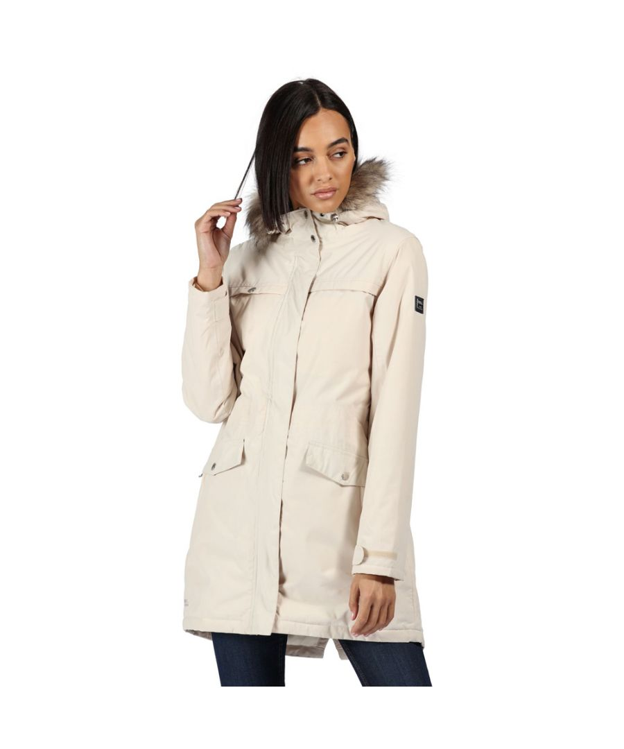 Image for Regatta Womens Serleena II Waterproof Insulated Parka Coat