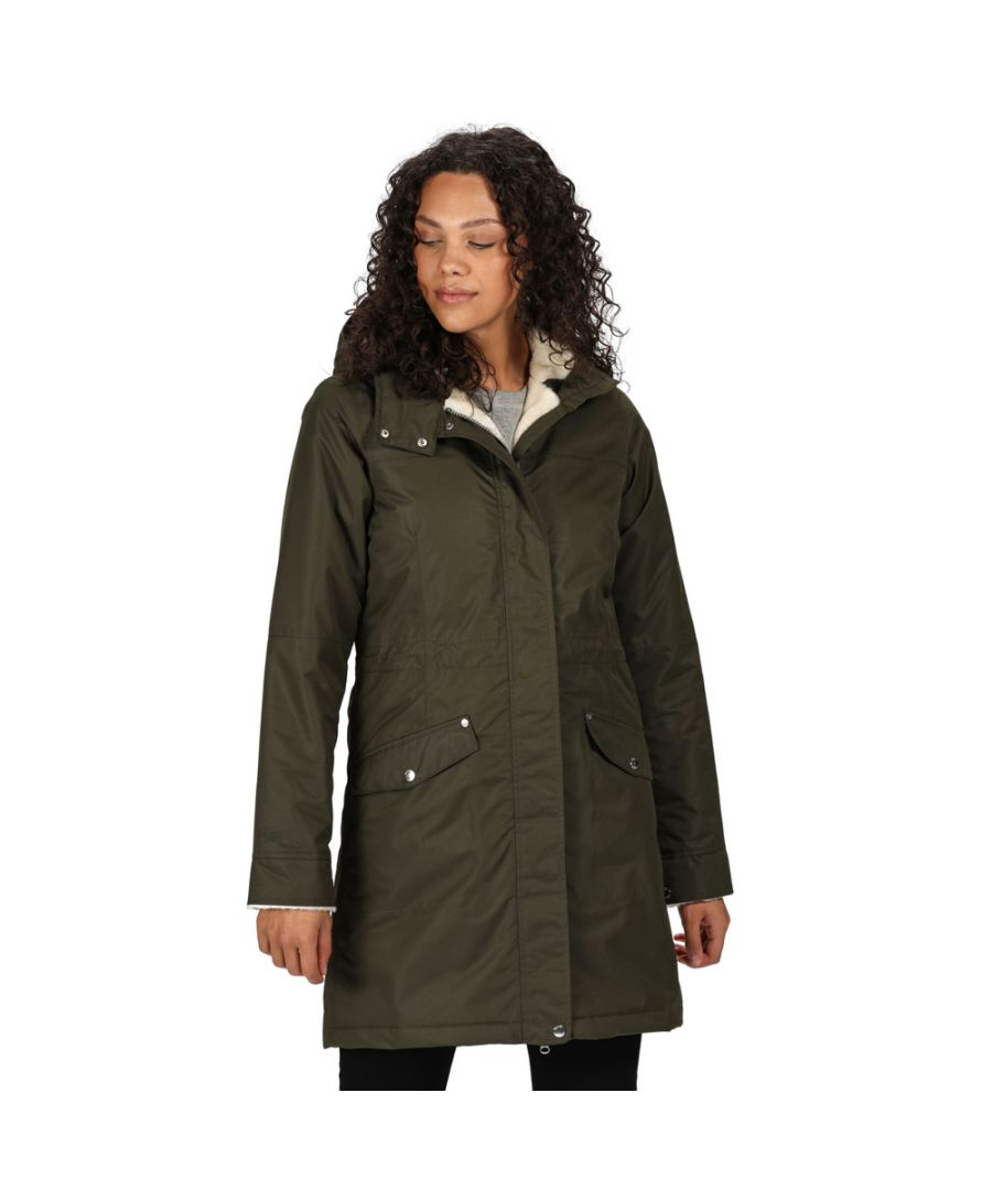 Image for Regatta Womens Rimona Waterproof Insulated Parka Coat Jacket