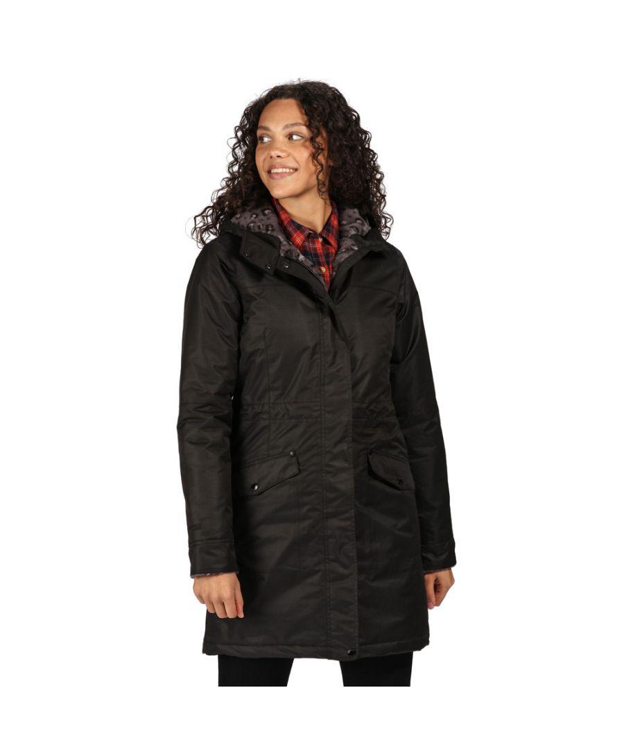 Image for Regatta Womens Rimona Waterproof Insulated Parka Coat Jacket