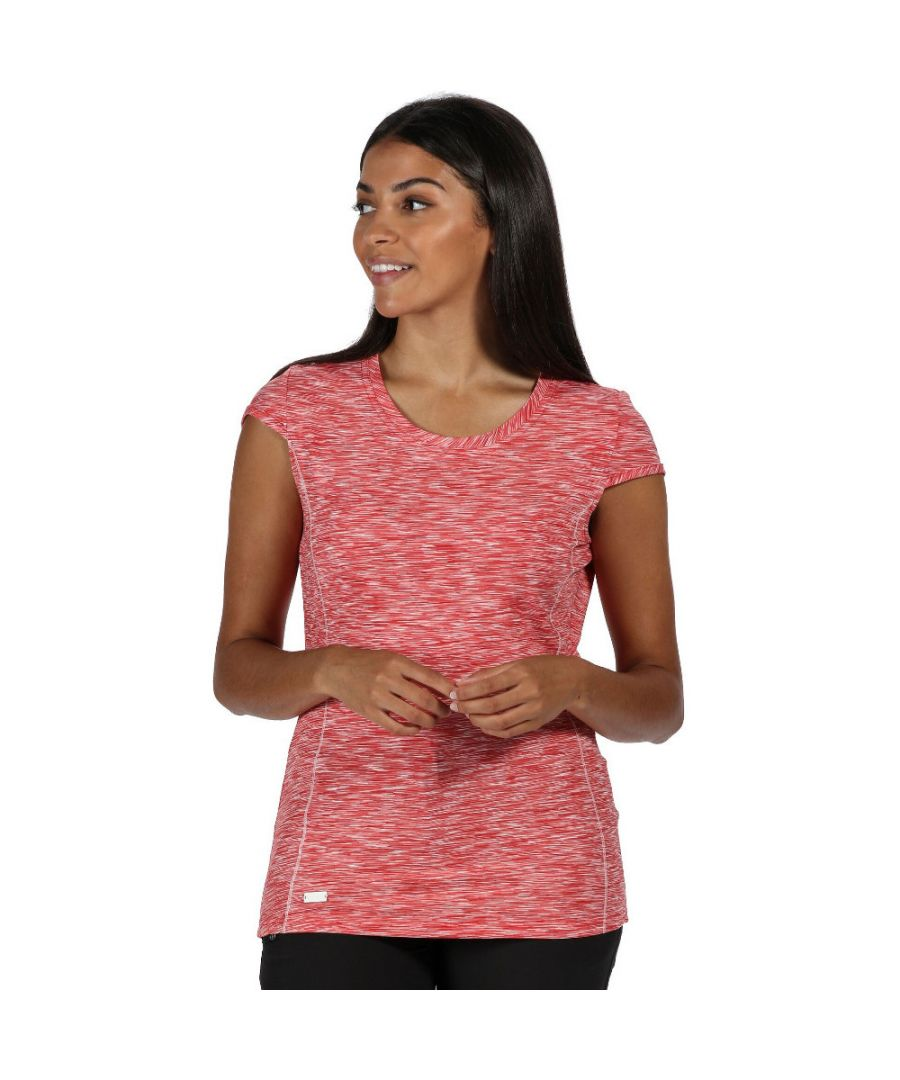 Image for Regatta Womens/Ladies Hyperdimension Wicking Active Running T Shirt