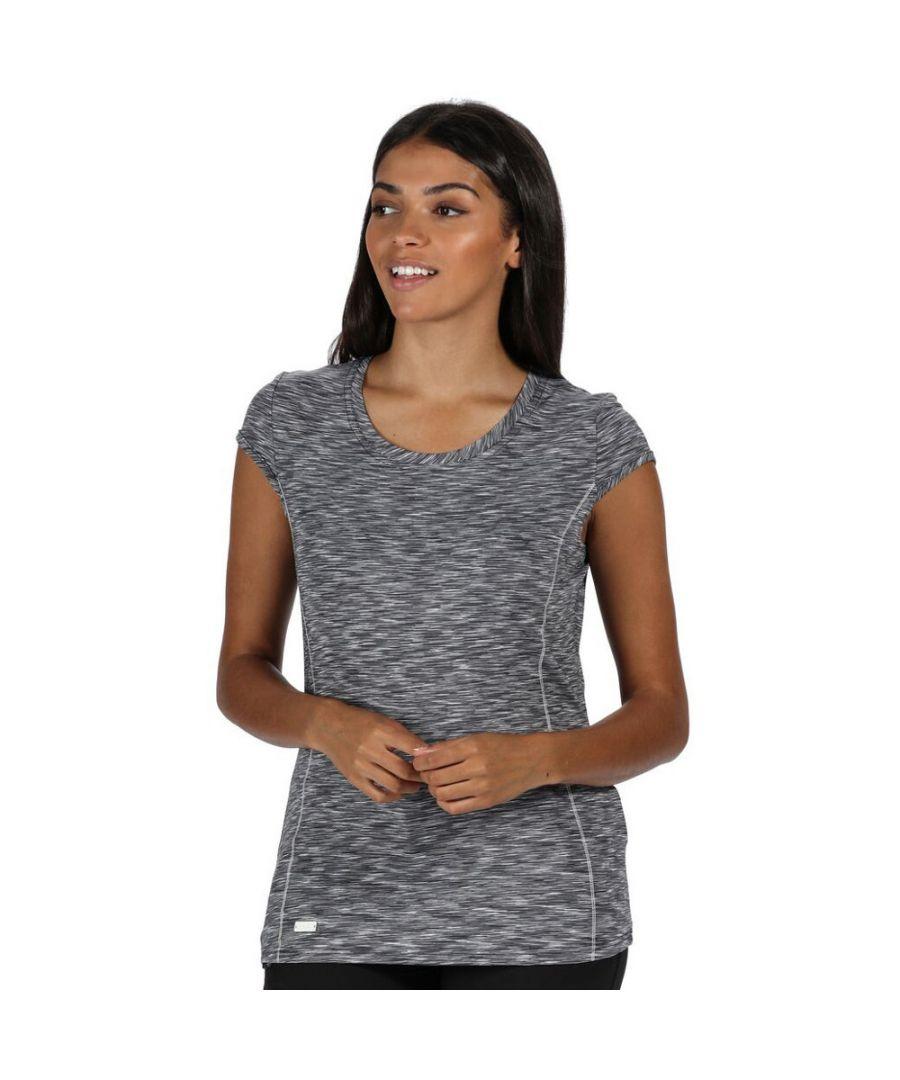Image for Regatta Womens/Ladies Hyperdimension Wicking Active Running T Shirt