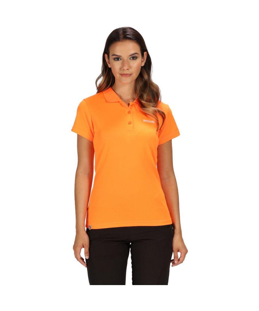 Image for Regatta Womens/Ladies Maverick IV Quick Dry Polyester Pique Polo Shirt