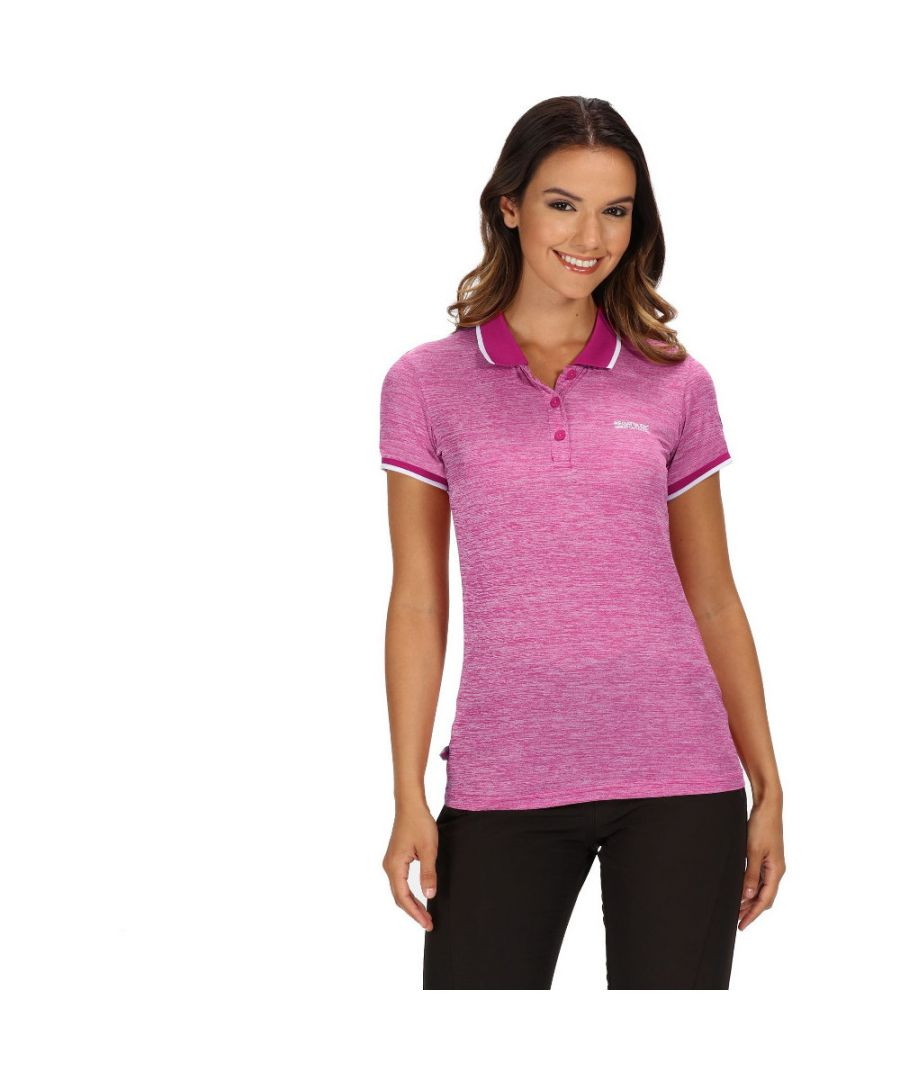 Image for Regatta Womens Remex II Quick Dry Wicking Active Polo Shirt