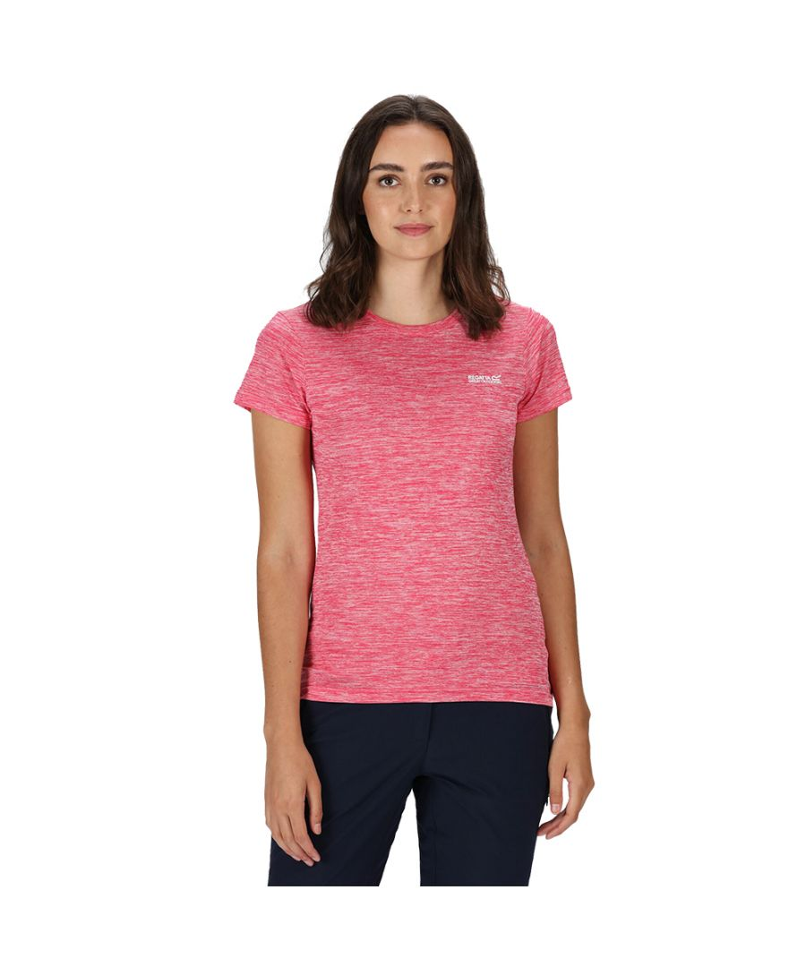 Image for Regatta Womens Fingal Edition Wicking Jersey T Shirt