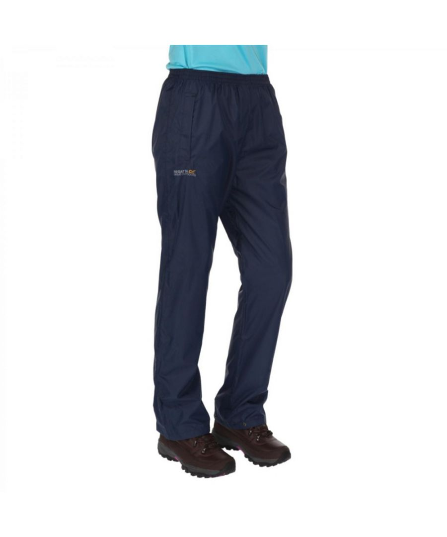 Image for Regatta Womens/Ladies Pack It Lightweight Waterproof Overtrousers