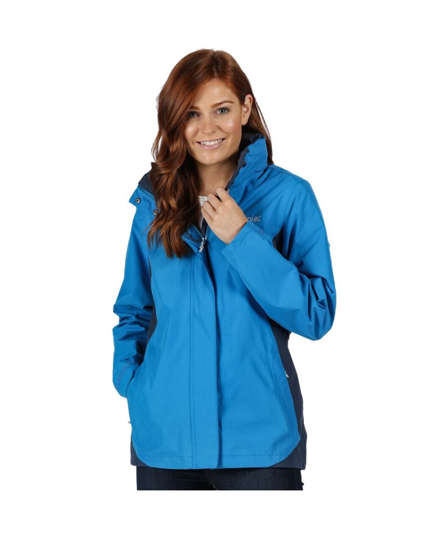 Image for Regatta Womens/Ladies Daysha Waterproof Rain Shell Jacket