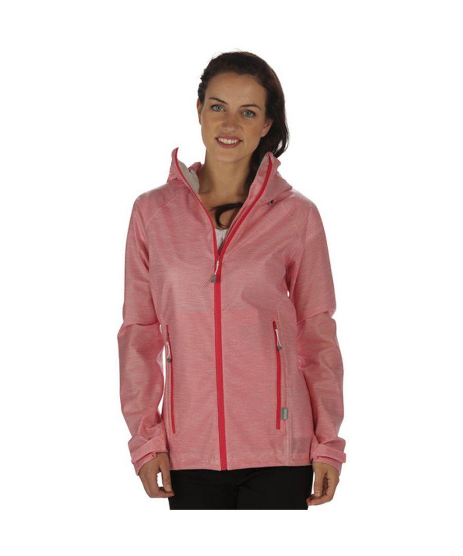 Image for Regatta Womens/Ladies Ultrashield Waterproof Breathable Rain Jacket