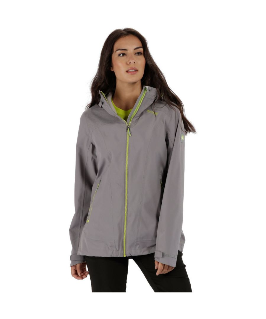 Image for Regatta Womens/Ladies Oklahoma III Waterproof Breathable Jacket Coat
