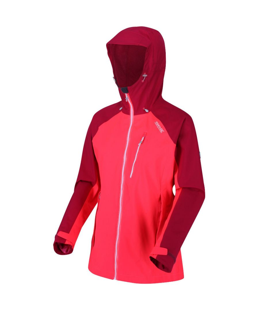 Image for Regatta Womens/Ladies Birchdale Waterproof Durable Hooded Jacket Coat