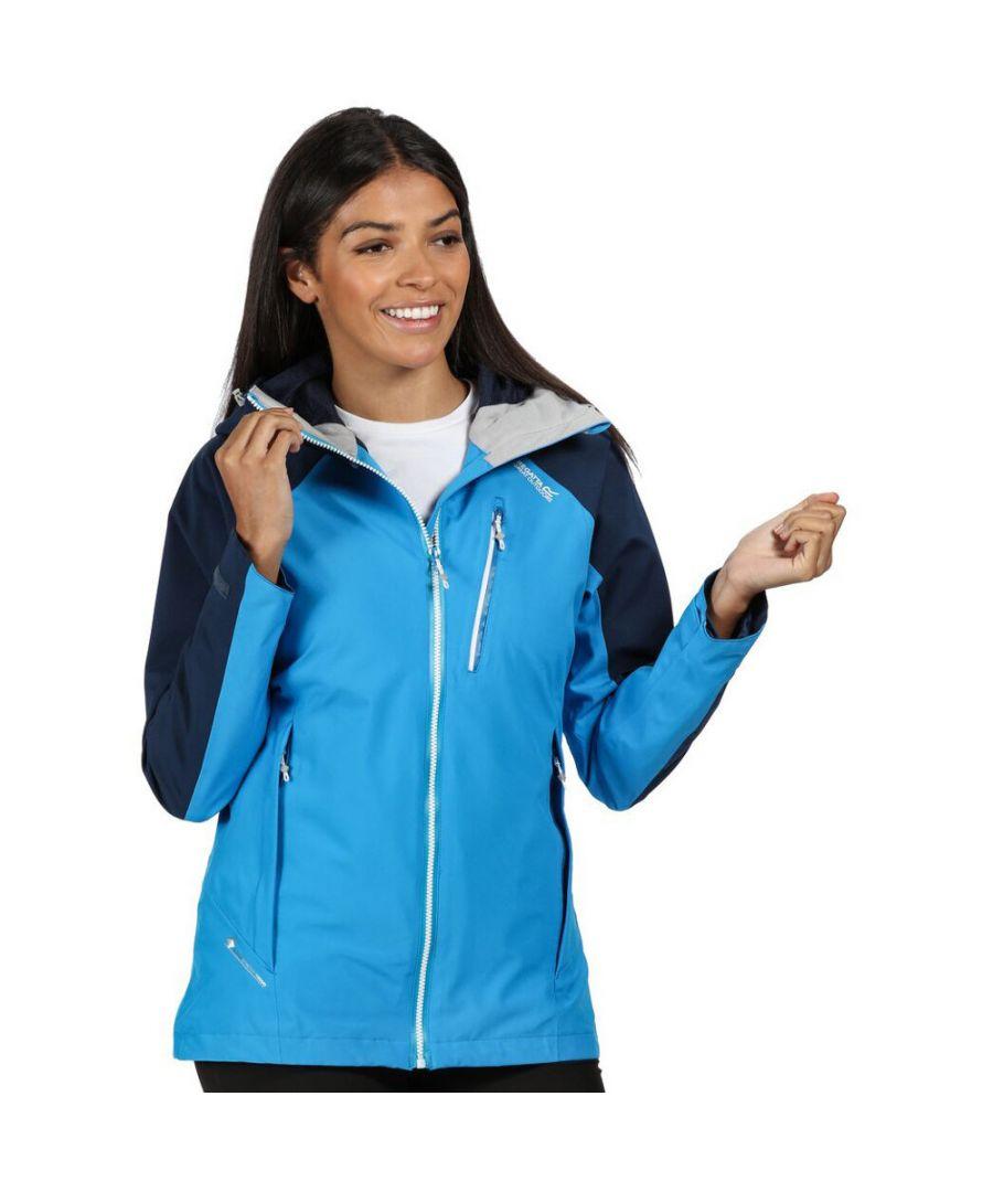 Image for Regatta Womens/Ladies Birchdale Waterproof Durable Hooded Jacket Coat