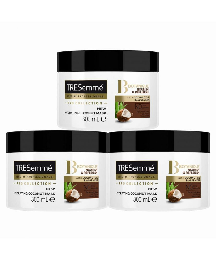 Image for TRESemme Pro Collection Botanical Eden Hair Mask, Pack of 3, 300ml