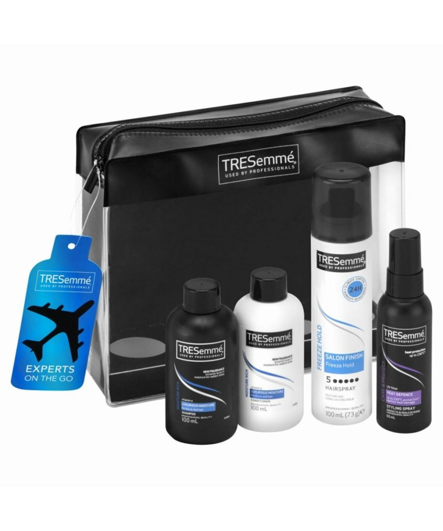Image for TRESemme Bring on Pro Performance 4 Piece Travel Gift Set