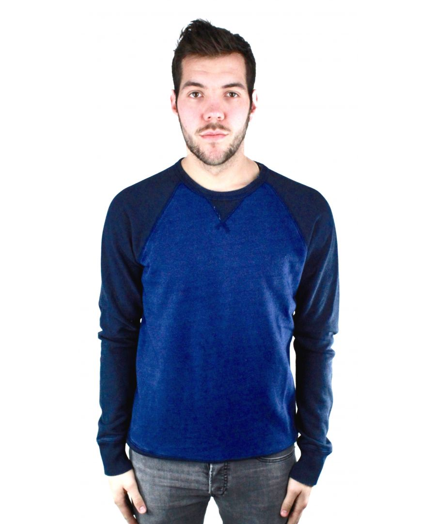 Image for Diesel S-Zaf Blue Jumper
