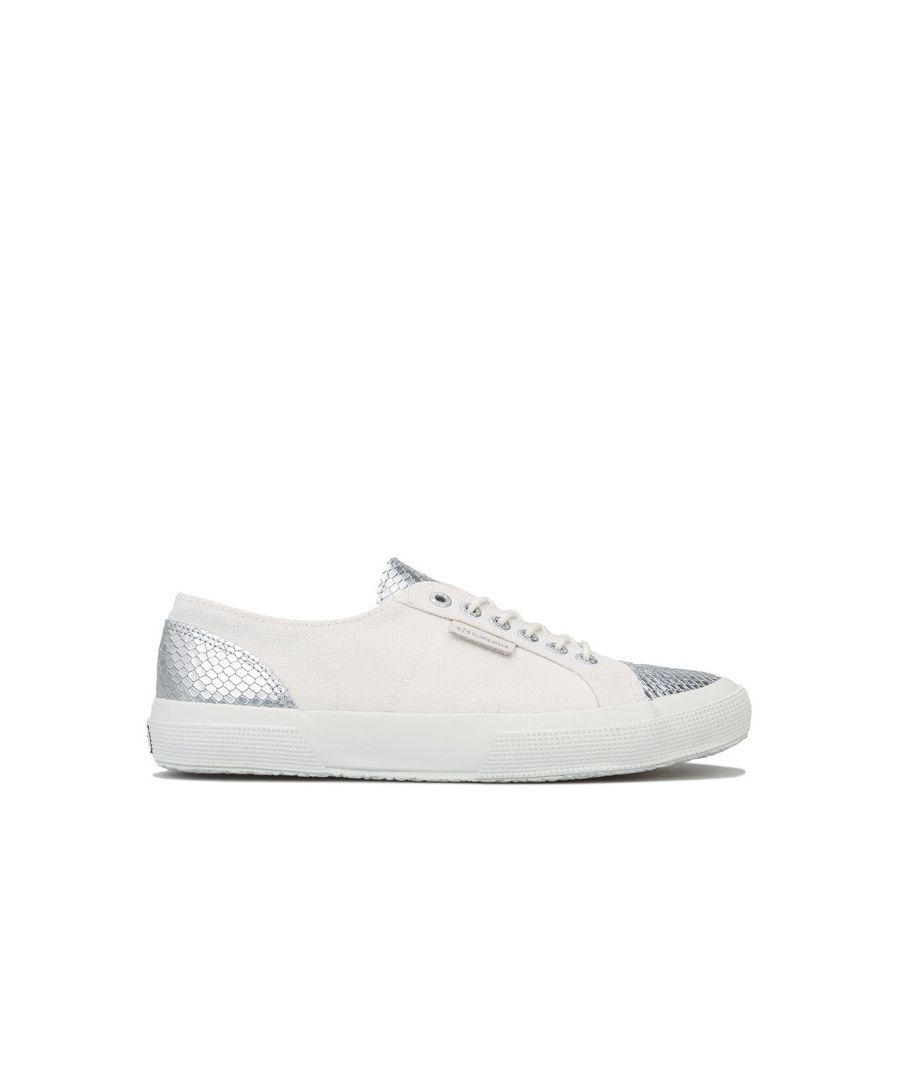 Image for Women's Superga 2750 Estreme Classic Pumps in White silver