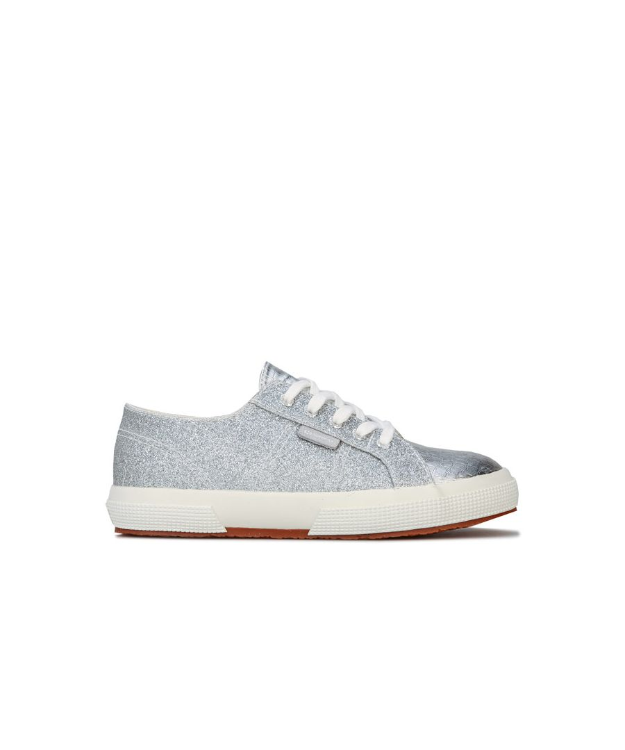 Image for Girl's Superga Children 2750 Cotu Classic Pumps in Silver