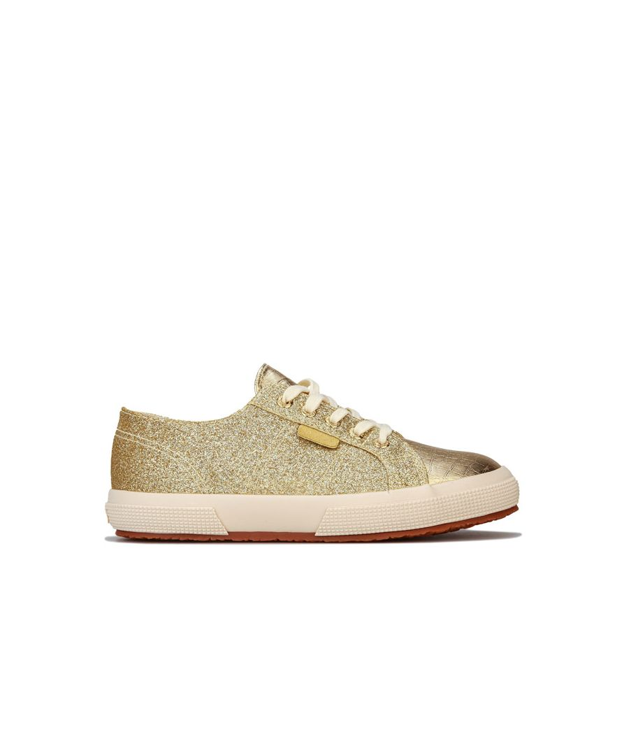 Image for Girl's Superga Children 2750 Cotu Classic Pumps in Gold