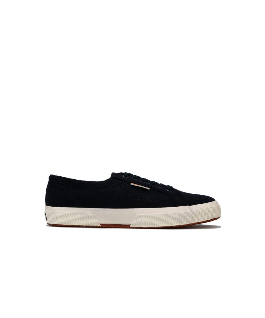 Image for Men's Superga 2750 Feltu Classic Pumps in blue navy