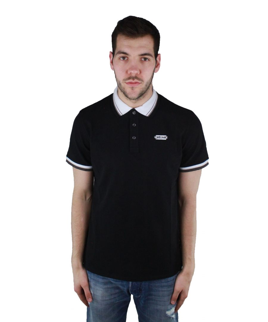 Image for Just Cavalli S01GC0452 N20557 900 Polo Shirt