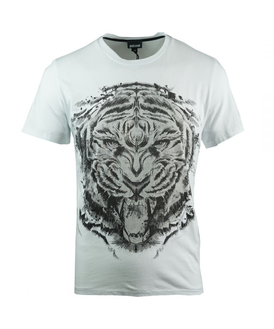 Image for Just Cavalli S01GC0473 N20663 100 T-Shirt