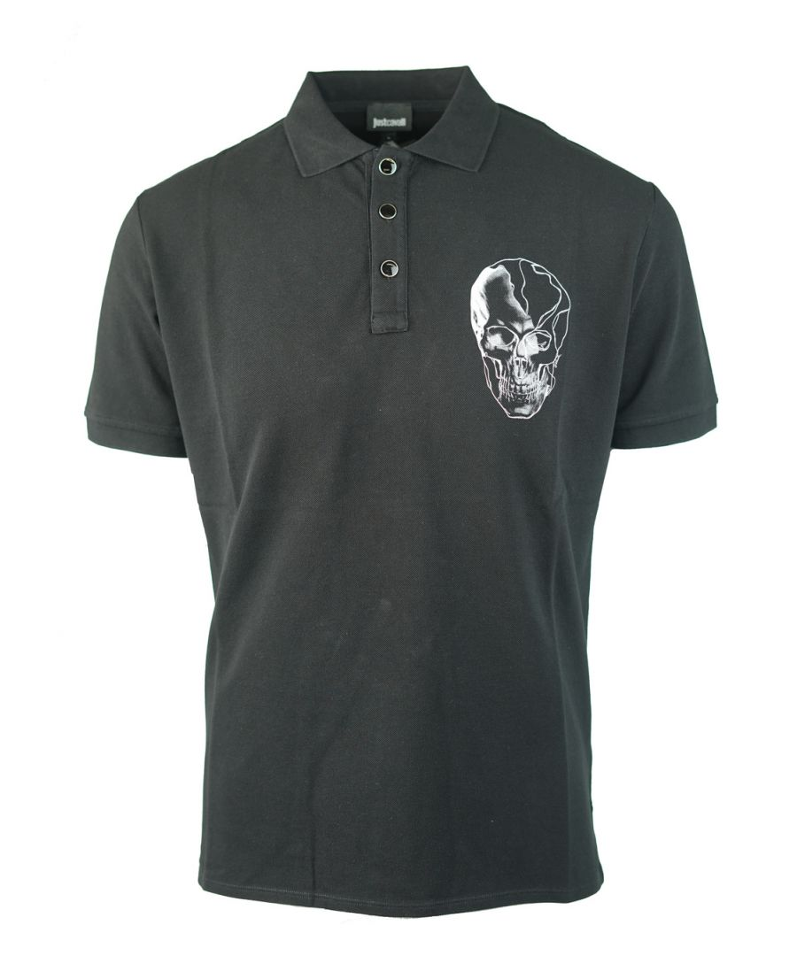 Image for Just Cavalli S03GL0024 N21368 900 Polo Shirt