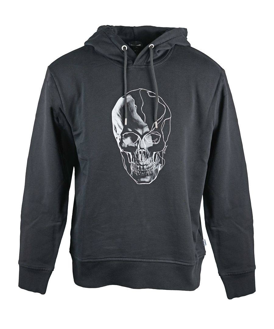 Image for Just Cavalli Skull Black Hoodie