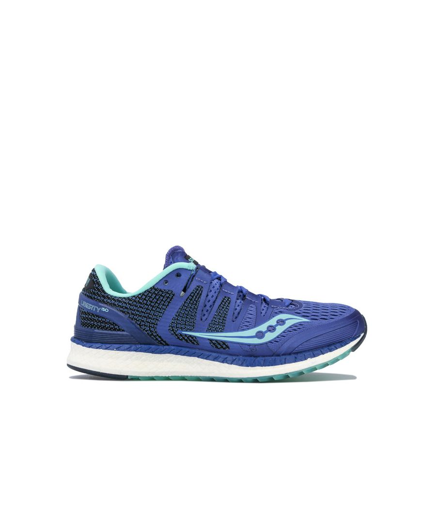 Image for Women's Saucony Liberty Iso Running Shoes in Purple
