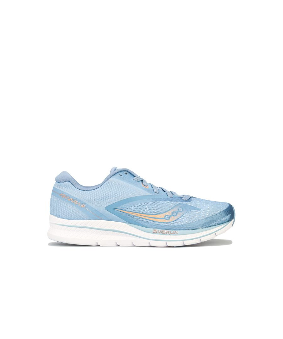 Image for Women's Saucony Kinvara 9 Running Shoes in Light Blue