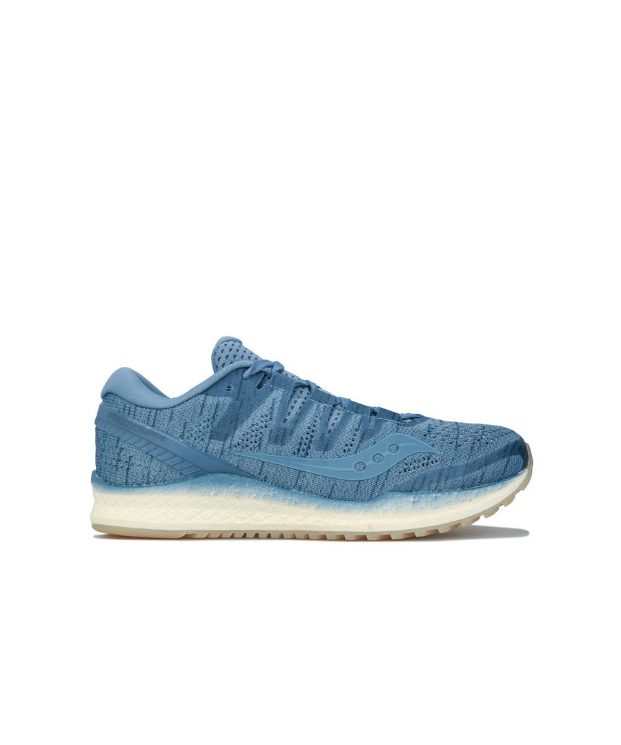 Image for Women's Saucony Freedom ISO 2 Running Shoes in Blue