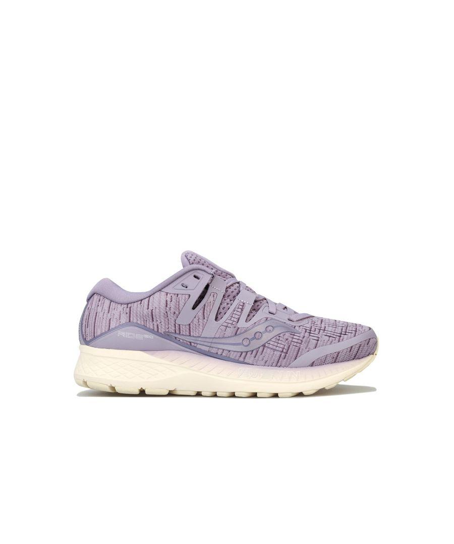 Image for Women's Saucony Ride Iso Running Shoes in Purple
