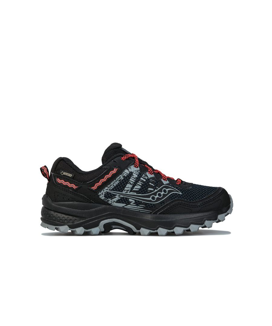 Image for Women's Saucony Excursion TR12 GTX Trail Running Shoes in Black