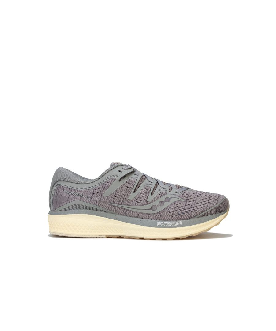 Image for Women's Saucony Triumph ISO 5 Running Shoes in Grey