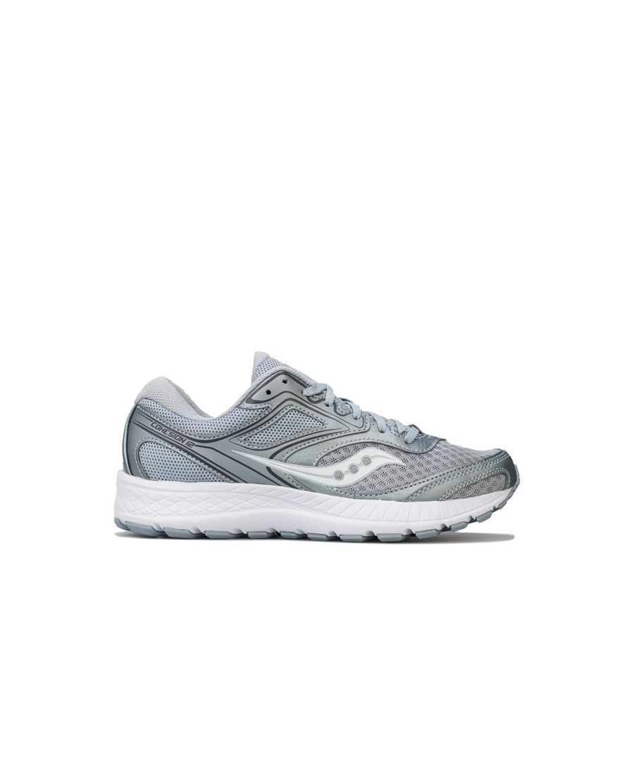 Image for Women's Saucony Cohesion 12 Running Shoes in Grey